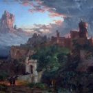The Spirit of War by Jasper Francis Cropsey - 24x18 IN Canvas
