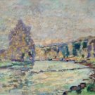 The River of Creuse at Genetin, 1905 - 24x18 IN Poster