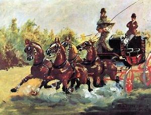 Count Alphonse de Toulouse-Lautrec - A3 Poster