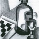 Still Life with Siphon by Juan Gris - A3 Poster