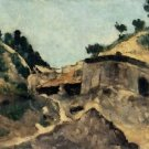 Landscape with Watermill, 1871 - 30x40 IN Canvas