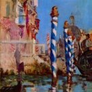 Grand Canal in Venice by Edouard Manet - A3 Poster