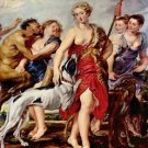 Diana with nymphs by Rubens - A3 Poster