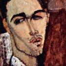 Modigliani - Portrait of Celso Laga - A3 Poster