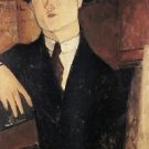Modigliani - Portrait of Paul Guillaume [3] - A3 Poster