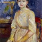 Julie Manet with a Budgie - 1890 - A3 Poster