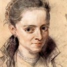 Portrait of Susanna Fourment by Rubens - 24x18 IN Poster
