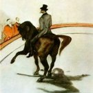 Horse in the Ring by Toulouse-Lautrec - Poster (24x32IN)