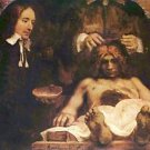 Anatomical lecture of Dr. Deyman, Fragment by Rembrandt - A3 Poster