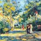 A Garden in Montmartre by Renoir - A3 Paper Print