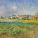 The Village of Bonnecourt - A3 Poster