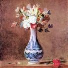 Flowers in a Vase by Jean Chardin - A3 Paper Print