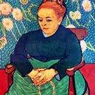 La Berceuse by Van Gogh - A3 Poster