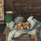 Still Life with Commode, 1883-87 - 24x32 IN Canvas