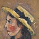 Portrait of Yvonne Loiseau, 1923 - 24x32 IN Canvas