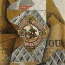 Juan Gris - The Bottle of Anjos del Mono - A3 Paper Print