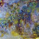 Wisteria [2] by Monet - 30x40 IN Canvas
