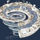 Vinteja charts of - Geological Time Spiral - A3 Paper Print