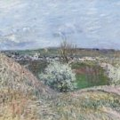 The Hills of Saint-Mammes at Spring, 1880 - A3 Poster