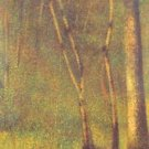 Forest in Pontaubert by Seurat - A3 Poster