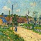 A Farm, 1914 - 30x40 IN Canvas