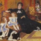 Madame Charpentier and her children - 24x18 IN Poster