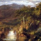 Heart of the Andes Detail by Frederick Edwin Church - A3 Paper Print