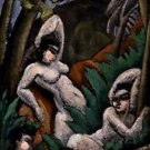 Max Weber - Summer - 30x40IN Canvas Painting