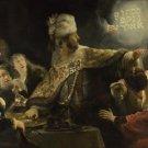 Rembrandt - Belshazzar's Feast - A3 Paper Print
