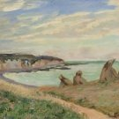Landscape of La Manche, 1902 - 30x40 IN Canvas