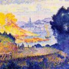 View of Menton, 1899-1902 - 30x40 IN Canvas