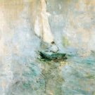 Sailing in the Mist 02, 1895 - A3 Poster