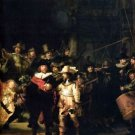 The Night Watch detail by Rembrandt - 30x40 IN Canvas