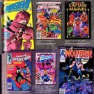 Vinteja charts of - Marvel in the 80s (2) - A3 Paper Print