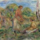 Landscape with Women, 1918 - Poster (24x32IN)