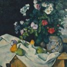 Still Life with Flowers and Fruit, 1888-90 - A3 Poster