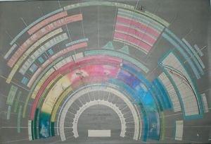 Vinteja charts of - Electromagnetic Spectrum B - A3 Paper Print