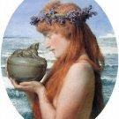 Pandora by Alma-Tadema - A3 Paper Print