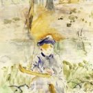 Julie and Her Boat - 1884 - 24x18 IN Poster