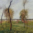 A Meadow in Moret, 1901 - A3 Poster