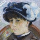 Portrait of a Young Woman, 1875 - A3 Poster
