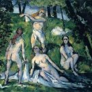 Bathers by Cezanne - A3 Poster