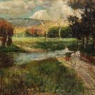 Landscape with Wagon - A3 Poster