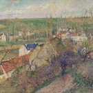 View of Osny near Pontoise, 1883 (version 2) - A3 Poster