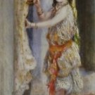 Girl with Falcon, 1880 - 24x18 IN Canvas