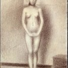Study for Les Poseuses 1886 - A3 Poster