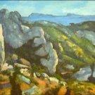 L'Estaque by Cezanne - 30x40 IN Canvas