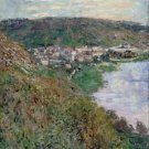 Monet - View of Vetheuil - 30x40 IN Canvas