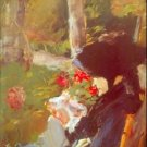 Manet's Mother by Manet - 30x40 IN Canvas