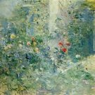 1884 Garden With Bougival - 30x40 IN Canvas